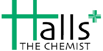 Halls The Chemist logo