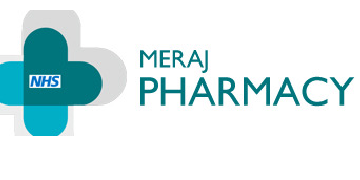 Meraj Pharmacy logo